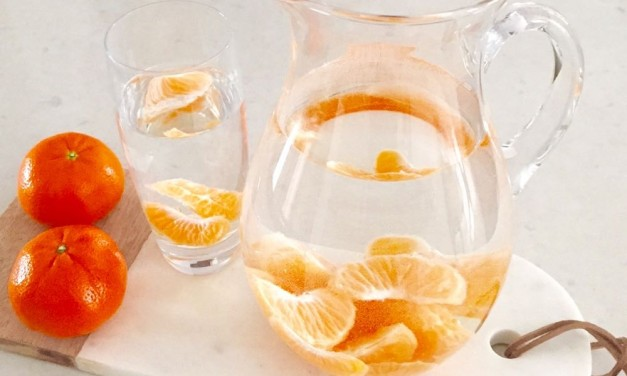 Clementine Infused Water