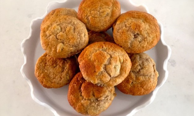 Apple And Sultana Breakfast Muffins