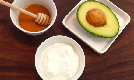 Avocado And Yogurt With Raw Honey Face Mask