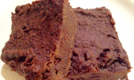 Decadent Black Bean Fudgy Brownie