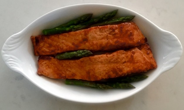 Teriyaki And Ginger Salmon