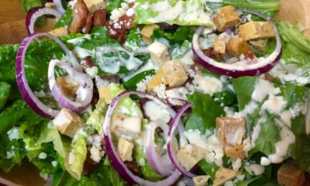 Nana Pat's Favourite Caesar Salad Dressing
