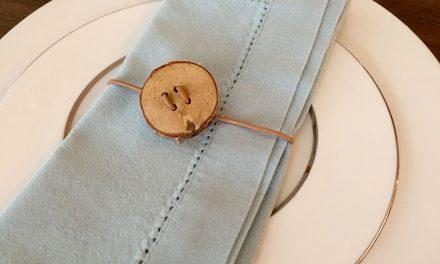 DIY Decorative Birch Napkin Ties