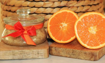 Homemade Orange Sugar Scrub