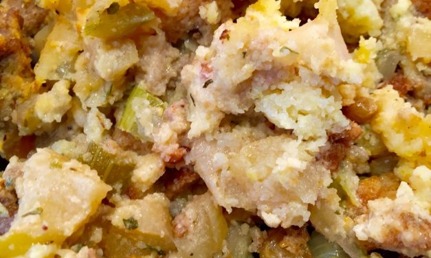 Apple Cornbread Stuffing