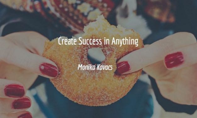 Create Success In Anything