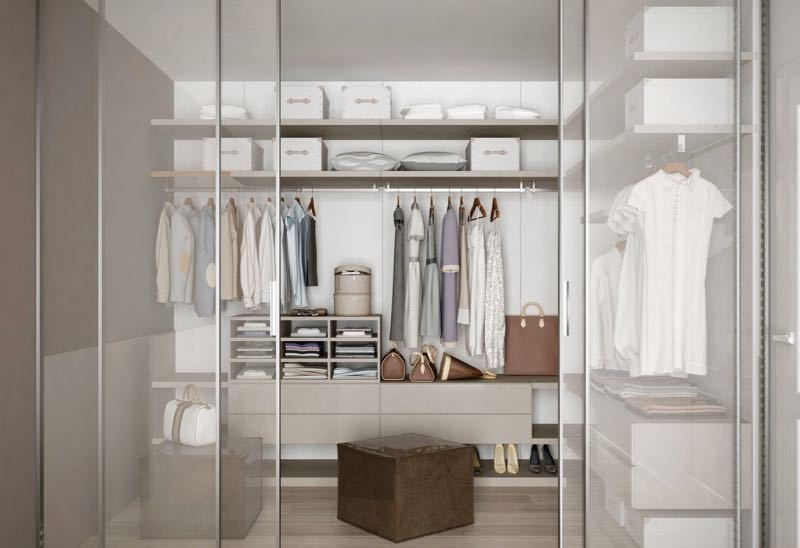 5 ideas to help develop your own minimalist wardrobe the elegant luxe life - Minimalist style homes less means more ...
