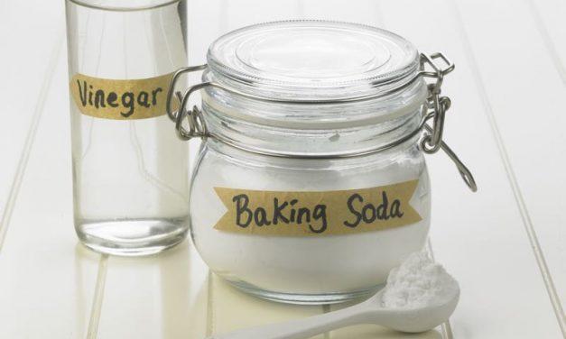 Baking Soda And Vinegar Cleaner