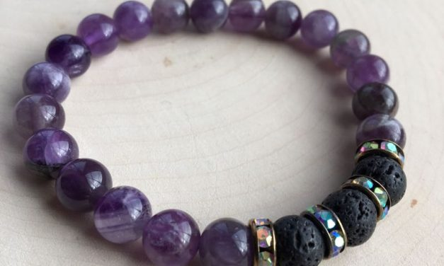 Stones And Crystals ~ Essential Oil Jewellery