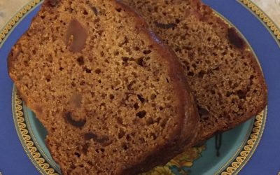 Gluten Free Banana Cranberry Loaf