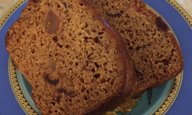 Gluten Free Banana And Cranberry Loaf