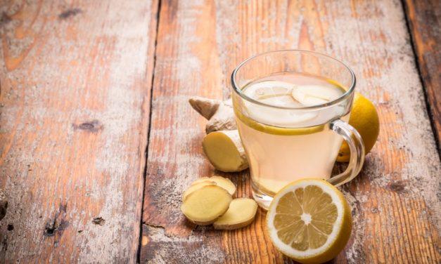 Homemade Ginger Tea Tonic