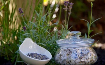 Peppermint And Lavender Foot Scrub