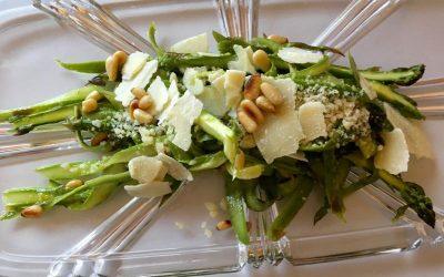 Nana Pat Shaved Asparagus Salad