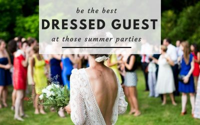 Be The Best Dressed Guest At Those Summer Parties