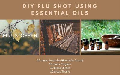 DIY Flu Shot With Using Essential Oils