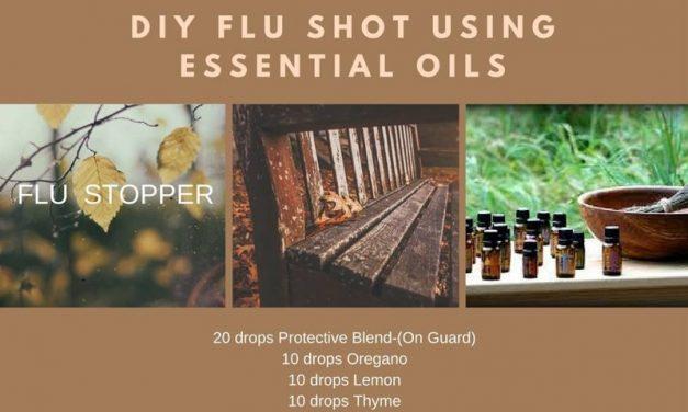 DIY Recipe Flu Shot Using Essential Oils