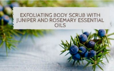 Exfoliating Body Scrub With Juniper & Rosemary Essential Oils