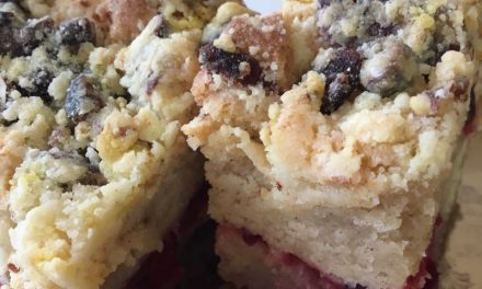 Gluten Free Cranberry Coffee Cake