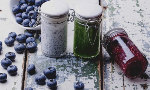 Berry Chia Seed Breakfast Pudding