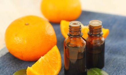 DIY Orange Essential Oil Cleaning Wipes