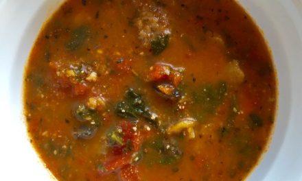 Nana Pat's Lasagna Soup