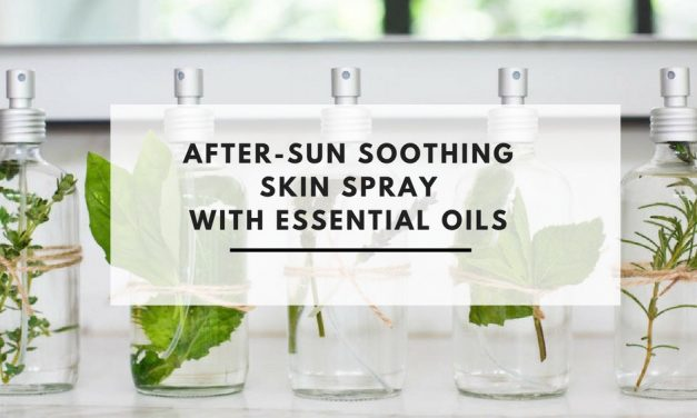 After-Sun Soothing Skin Spray With Essential Oils