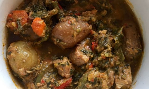 Pork Stew With Winter Vegetables