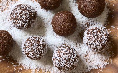 Gluten Free Organic Cocoa Energy Bites