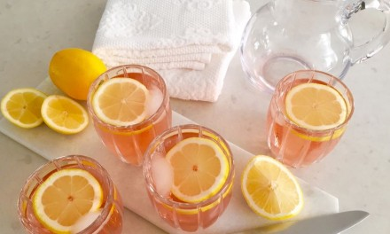 Strawberry And Lemon Infused Water