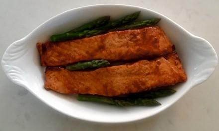 Teriyaki And Ginger Salmon