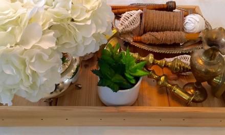 Handmade Cedar Plank Tray
