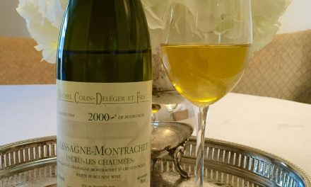 Michel Colin-Deleger & Fils Chassagne-Montrachet Chaumees 2000