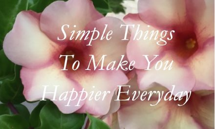 Simple Things To Make You Happier Everyday