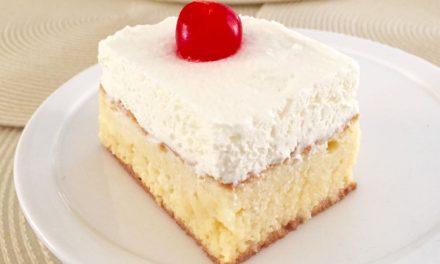 Pastel de Tres Leches – Three Milks Cake