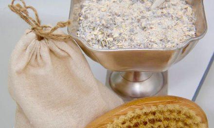 Lavender And Oatmeal Bath Soak