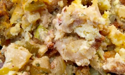 Apple Cornbread Stuffing