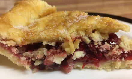 Nana Pat's Gluten Free Cherry Pie