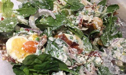 Nana Pat's Layered Summer Salad
