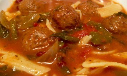 Nana Pat's Italian Meatball Soup