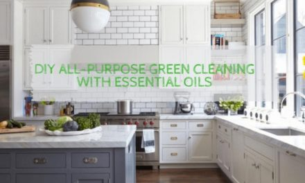 DIY All-Purpose Green Cleaning With Essential Oils