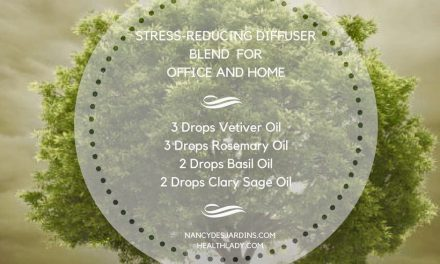 Stress-Reducing Diffuser Blend For Office & Home